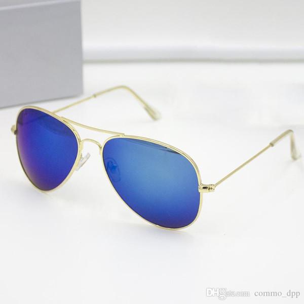 High quality Brand designer pilot mens Sunglasses luxury metal frame Sun glasses retro sports eyeglasses For women Fashion classic eyewear