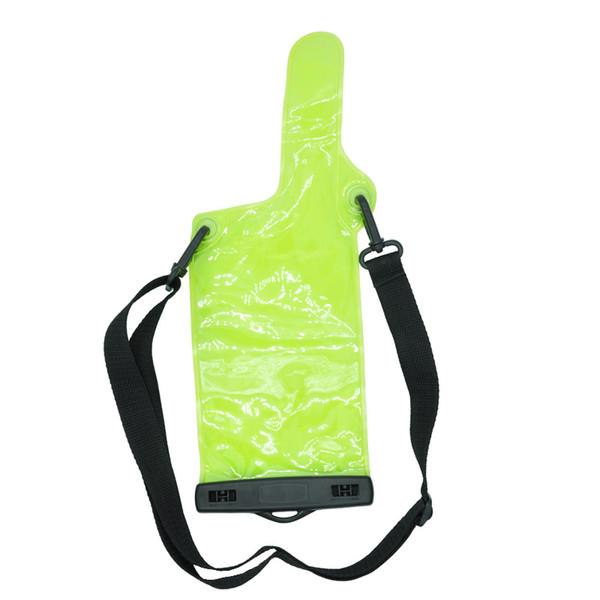Wholesale- Portable Radio Waterproof Case For baofeng walkie talkie UV5R UV82 BF 888S UVB6 Waterproof bag For portable radio Accessories