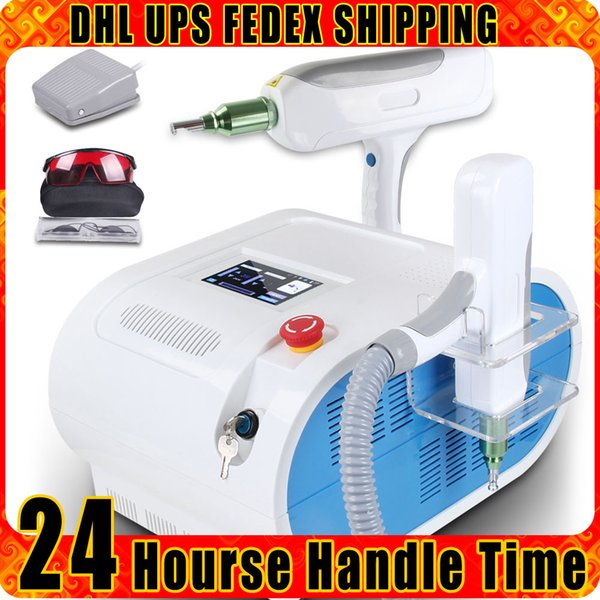 Pro Q Swith ND Yag Laser Spot Birthmark Pigment Treatment Tattoo Removal Skin Care Beauty Equipment RED Target Light