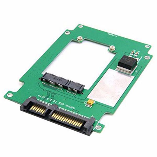 Mini PCI-E SSD mSATA de 50 mm a 2.5