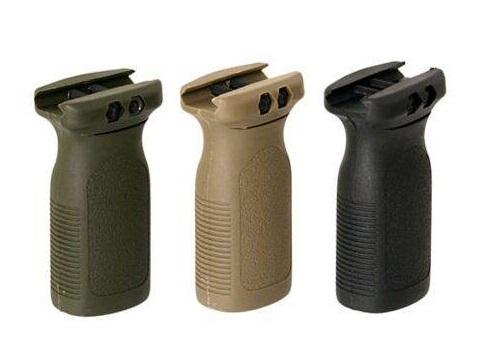 Versione di marcatura PTS Vertical Grip fit per fucile Rail Foregrip BK / DE