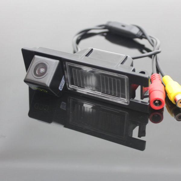 Car Rear View Camera For Chevrolet Malibu 2012~2014 / Reverse Camera / HD CCD RCA NTST PAL / License Plate Light OEM
