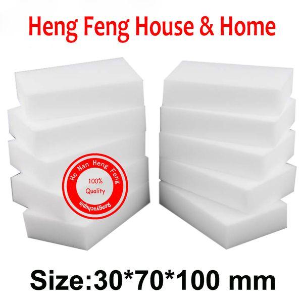 80pcs White Magic sponge cleaning eraser melamine cleaner white mop,super clean slimy gel melamin kitchen esponja magique