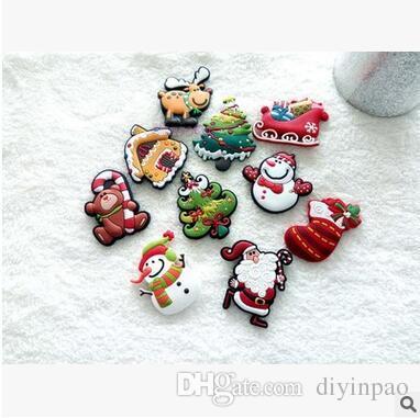 Venta al por mayor Navidad imanes de nevera de alta calidad 3D etiqueta magnética niños dibujos animados animales juguetes decoraciones para el hogar envío gratis