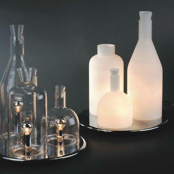 Acquista Vendita Calda Design Moderno ITRE Rosati Bacco 123 Lampada Da  Tavolo Bottiglia Moda Winebottle Tavolo In Vetro Illuminazione Spedizione  ...