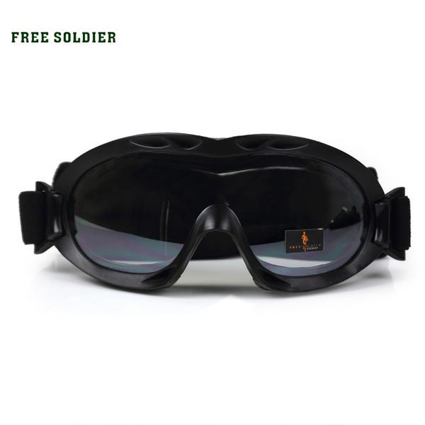 ÜCRETSIZ SOLDIER açık yürüyüş kamp sürme spor çöl akrep kayak gözlükleri, anti-rüzgar toz gözlük taktik gözlük