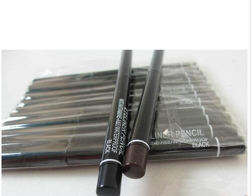 top popular Wholesale f new automatic rotating black and brown eyeliner 60PCS 2021