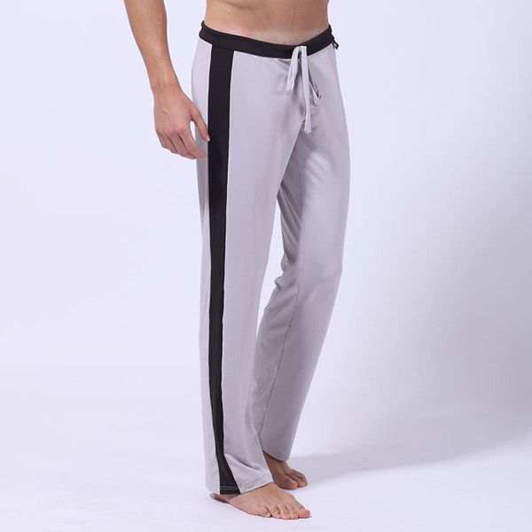 Wholesale-WJ Tracksuit Men Bottoms Bottom Joggers Men Sweatpants Track Pants Pantalon Homme Milk Silk Men'S Casual Sexy Pants