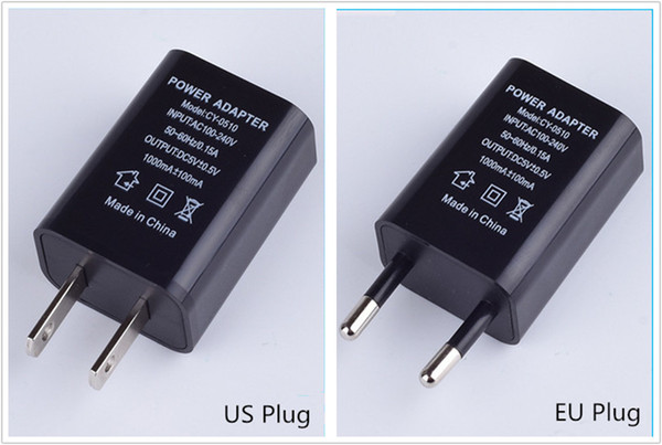 best selling US EU Plug USB Wall Chargers 5V1A Adapter Travel Convenient AC Power Adaptor for Samsung Sony Htc Huawei Xiaomi LG Free Shipping