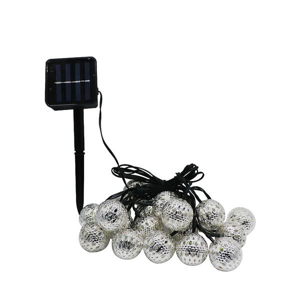 Umlight1688 Super bright 10 Balls/Set Moroccan LED Solar String lights LED Fairy Lights Outdoor Christmas Decoration LED Lamp Solar Powered