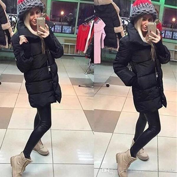 Nice Causal Winter Duck Down Jacket Women Coat Outerwear Plus Size Down Coat Long Slim Design Parkas For Women Winter Warm Coats