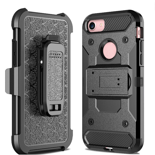 2017 neue für apple iphone 7 plus 6 6 s iphone7 samsung galaxy note 7 s7 rand lg stahl rüstung tpu pc handy schutzhüllen schwarz