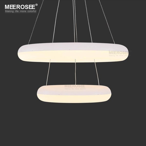 Modern LED Ring Lamp Chandelier Light Fixture Acrylic LED Hanging Drop Lamp For Dining Room lamparas Lighting For Home