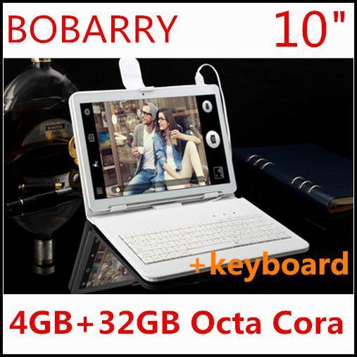 Tablet PC da 10.1 pollici 3G 4G LTE Octa core 1280 * 800 5,0 MP 4 GB 32 GB Android 5.1 tablet GPS Bluetooth 10 con tastiera
