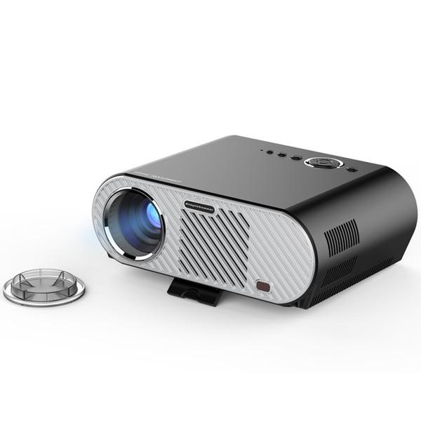 GP90 LED LCD Projector Mini Portable Projectors 1080P 3200 Lumens Multi-Media Player HDMI / VGA / USB Home Theater Cinema Game Education