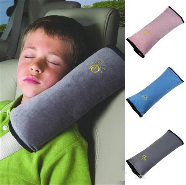 Cinture di sicurezza per auto Cintura di sicurezza per auto Cintura morbida Imbracatura per bambini Coprisedili Cuscino di sostegno Cuscino Cuscino per sedile b1144