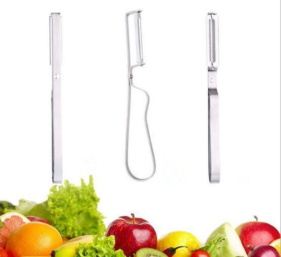 top popular New Arrival Stainless Steel Cutter Vegetable Fruit Apple Slicer Potato Peeler Parer Tool 2019