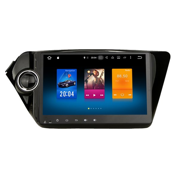 "9"" Octa-Core Android 6.0 Car DVD Player For Kia Rio K2 GPS Tape Recorder Radio 2G+32G Memory OBD DVR WIFI 4G 3D Map Mirror Screen SWC BT"