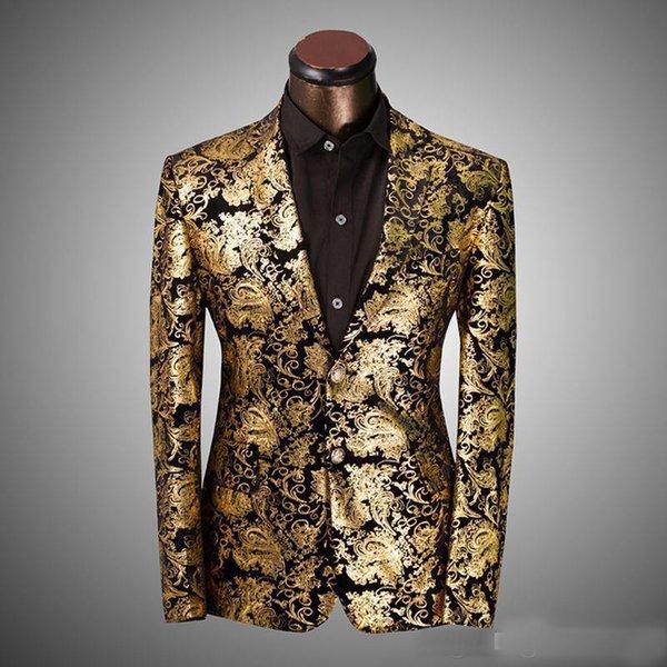 772b2c352ba21 2017 yeni Marka Giyim Erkek Blazer Chaqueta Americana Hombre Moda İş  Dünyası Giydirme İnce Fit Outwear
