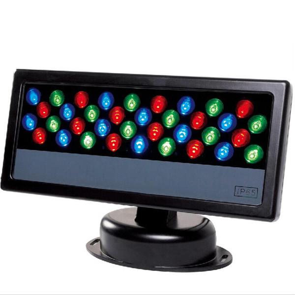 36 * 3W LED RGB Proiettore LED Wash Light Impermeabile DMX 512 Stage Light LED Floodlight Wall Washer lampada di fondo Lampada flood light