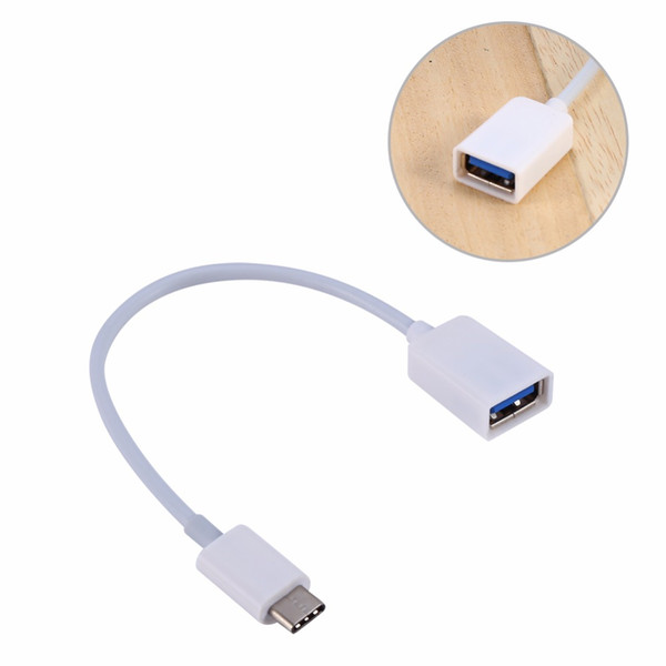 Freeshipping 2pcs/lot USB-C 3.1 Type C Male to USB 3.0 Cable Adapter OTG Data Sync Charger Charging Connectors for MacBook for nokia N1