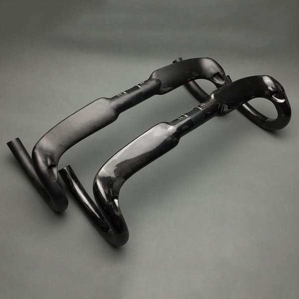 Glossy Matte UD Carbon Road Bike Bicycle Racing Drop Bar Handlebar 31.8mm 400 420 440mm