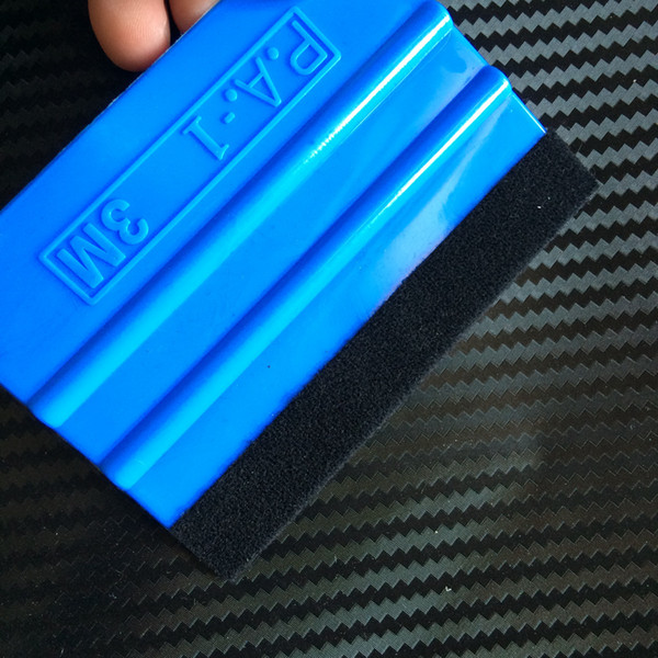 500 Pcs/ Lot 3M Felt Squeegee For Vehicle Window Tool Scraper Spatula Wrapping kits Ship By DHL / Fedex express