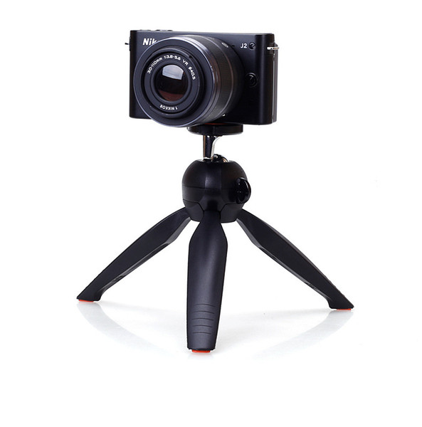 Mini Tripod Professional for Digital Camera SLR Handheld Selfie Tripod Stand Phone Mount Holder Support Rotatable Tripod Head