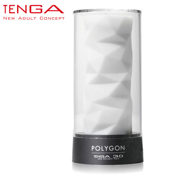TENGA 3D Polygon Masturbation Cup Male Masturbator Sex Cup for Men Soft High-grade Aircraft Cup Sex Toys for Men TNH-004 q170686