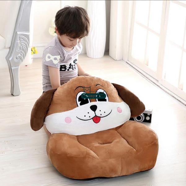 Dorimytrader Pop Cartoon Animal Chick Snake Tiger Pig Dragon Dog Rabbit Cow Mouse Monkey Horse Sheep Kids Sofa Chair Baby Gift 50cm