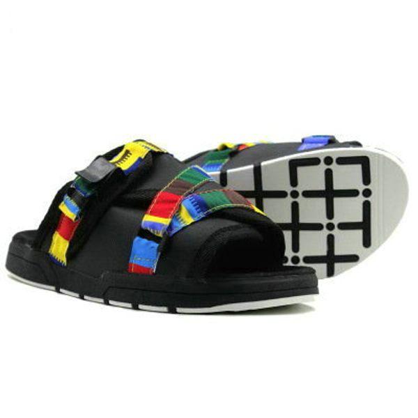 23 colori Moda Fringe Uomini donne Pantofole di Tela Maschio scarpe estive Slides antiscivolo pantofole da spiaggia Infradito sandali 36-45