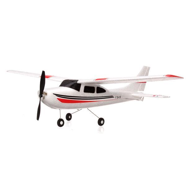 Оптово-WLtoys F949 3CH 2.4G Cessna 182 Micro RC Модель самолета Самолет RTF Модель 2
