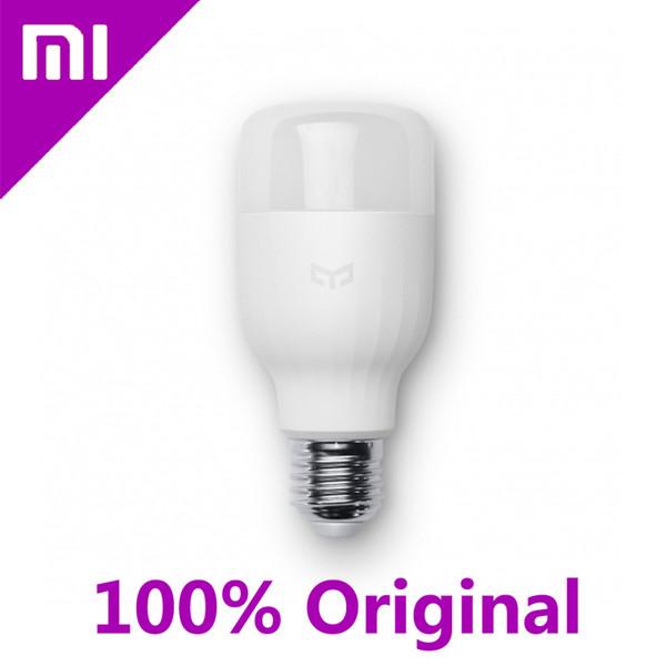 Wholesale-100% Original Xiaomi Mi Yeelight LED Smart Bulb Smartphone App WIFI Remote Control Light 8W E27 Mi Work LED Lamp # F1423