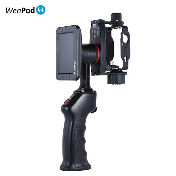 Original WenPod GP1 + Adventure Camera Estabilizador Cardan Handheld com 3.5