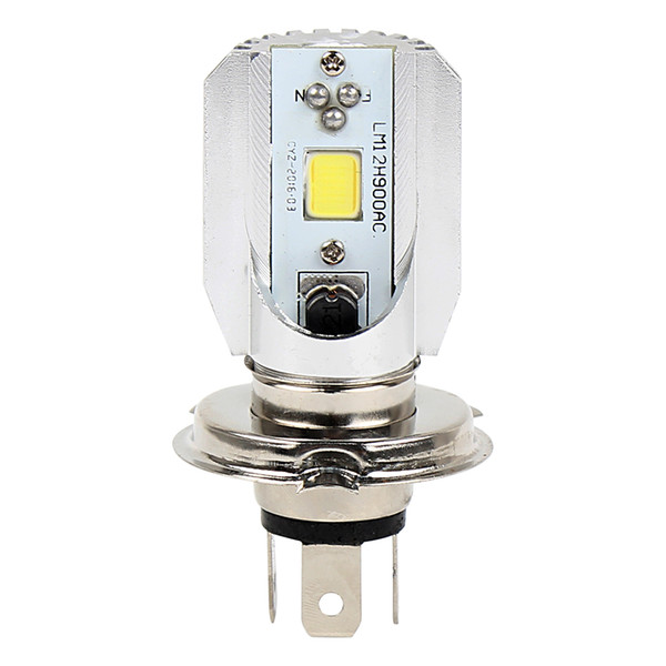 High quality COB DRL Motorcycle Fog Lamps High Low Beam Motorcycle Headlight Universal DC 12V H4 8W LED Motorbike Lights