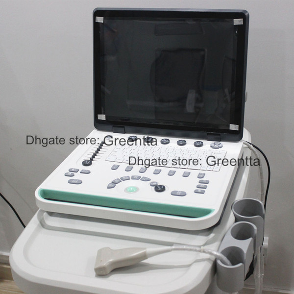 Notebook ultra ound machine with 3 or 4 probe lapultra ound canner