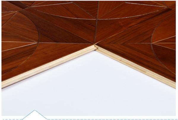 Teca casa dormitorio conjunto de dormitorio baldosas sólidas pisos de madera madera parquet nogal madera decorat personal suelo limpiador carpintería