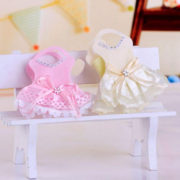 Creative Baby Shower Party Favor Fournitures Nouveauté GirL Jupes Emballage De Bonbons Sacs Cadeau D'anniversaire Souvenir Boîtes À Bonbons ZA3394