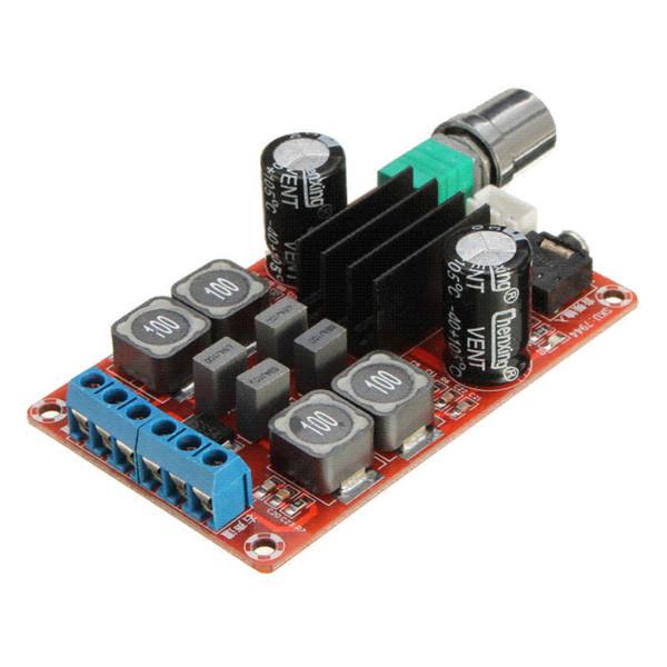 Nueva llegada 2x50W tablero del amplificador de potencia digital 5V a 24V de doble canal AMP TPA3116D2 por mayor