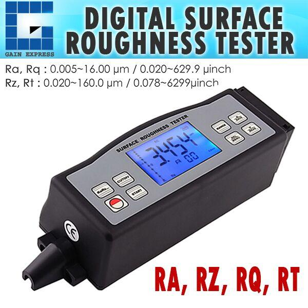 SRT-6210-EU 4 Parameters Digital Surface Roughness Tester (Ra, Rz, Rq, Rt) with Built-in Diamond pin probe +Metric / Imperial Conversion
