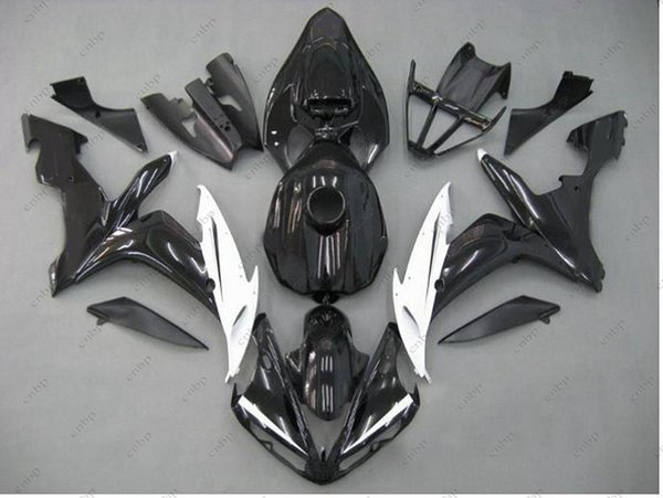 Full Body Kits YZF R1 04 06 Body Kits for YAMAHA YZFR1 05 06 Black Yellow ABS Fairing YZF1000 R1 2006 2004 - 2006