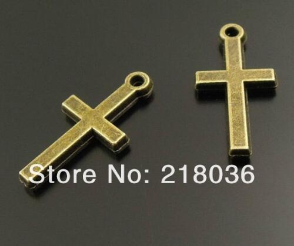 Pendants Charm 16x16mm free UK postage 10 Antique Bronze Metal Flower Button