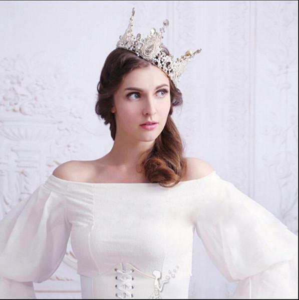 Bride wedding headdress high-end wedding accessories birthday gift decoration performance beauty queen crown evening party wedding