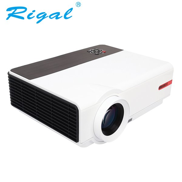 Gros-Projecteur rigide RD808A LED HD Projecteur 3200Lumen 3D Beamer 1280 * 800 Cinéma maison Cinéma Proyector LCD Projektor HDMI VGA USB TV
