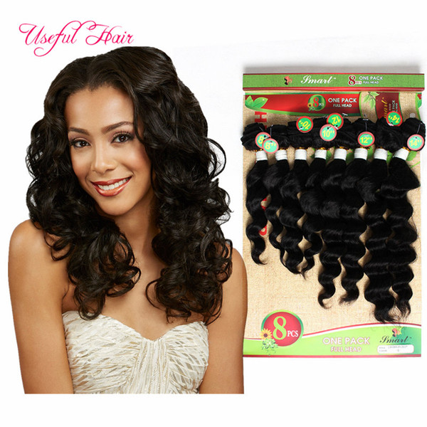 Human hair weft 8bundles high quality loose wave MARLEY 250g deep curly Brazilian human braiding hair kinky curly SEW IN HAIR EXTENSIONS
