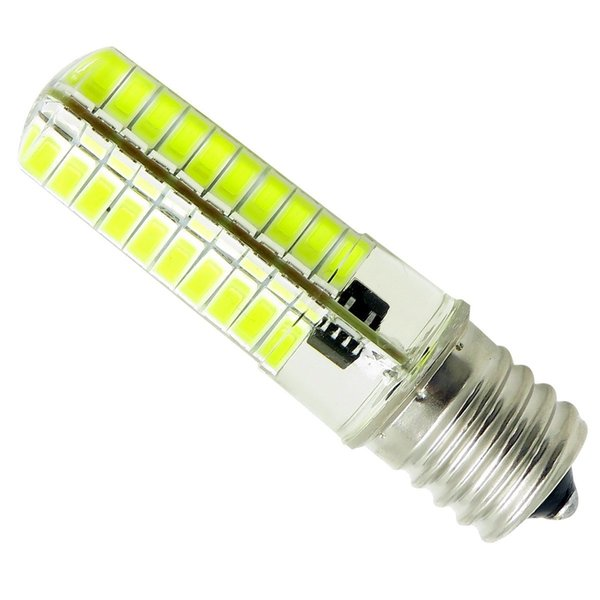 E17 LED Bulb Dimmable 110V 220V 5W 540 Lumens white / warm Microwave Oven Refrigerator Lamp Ceiling Fan Light Candelabra Bulb (Pack of 10)