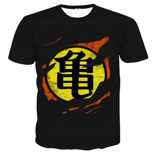 Newest Fashion Men/Women Dragon Ball Z Cartoon Summer Style Funny Unisex 3D Print Casual T-Shirt S---5XL AA508