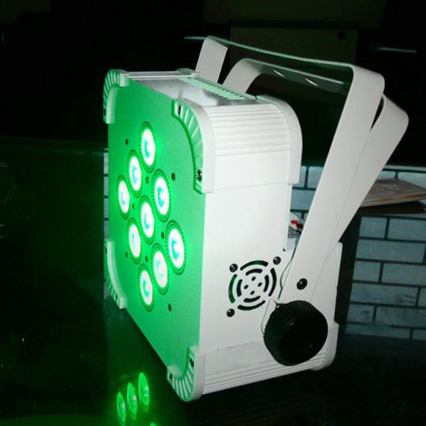 Free Shipping Cheap Led Uplighting 9x15W RGBAW 5in1 Battery Wireless Par Can Event Wedding Romantic Wash Lightings DJ Light Effect Equipment