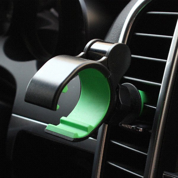 Car Air outlet mobile phone GPS clip support holder vehicle cellphone stand hands-free call, safe driving 1303