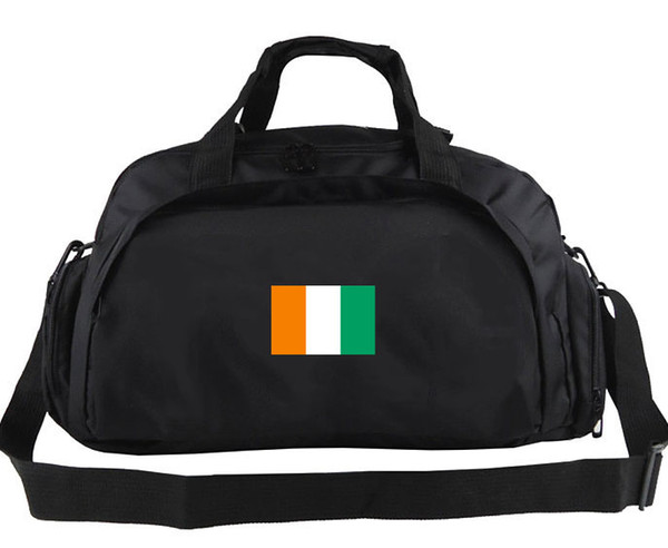 Ivory Coast duffel bag Cote d Ivoire fans tote Country team flag luggage Football club duffle Handle backpack Sport sling handbag